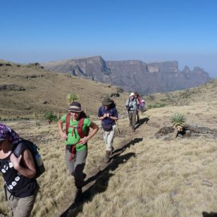 Hiking Tour Of Simien Mountains