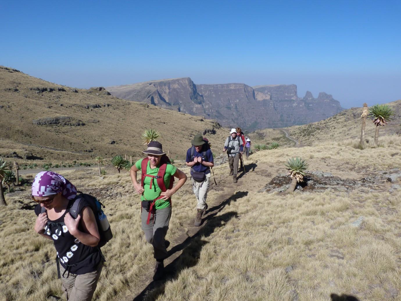Hiking Tour Of Simien Mountains