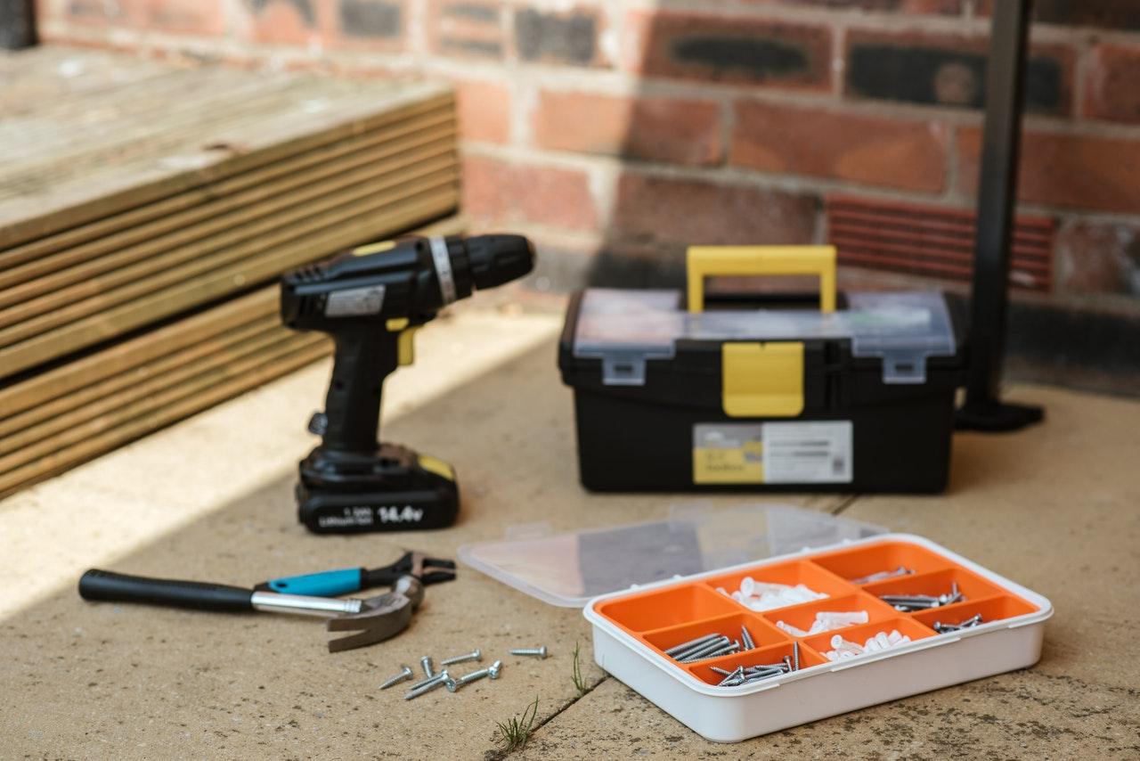 toolbox of a man